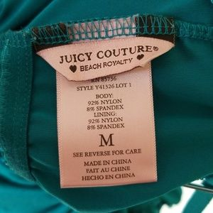 4ebed1046e Juicy Couture Swim - Juicy Couture Skirted Bandeau Polynesian swimsuit